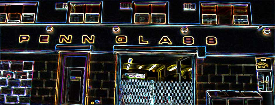 Penn Glass Shop Neon